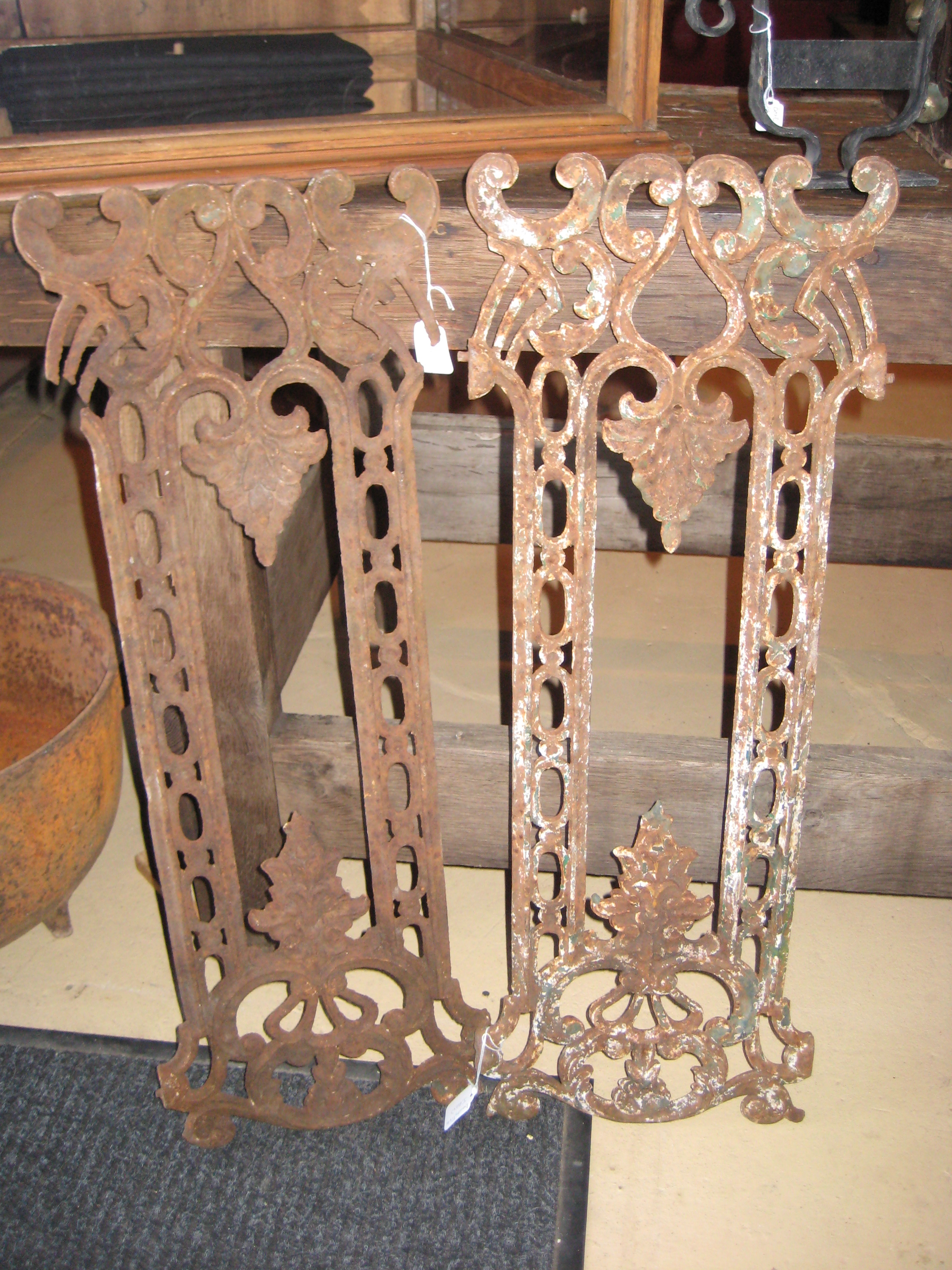 Decorative iron