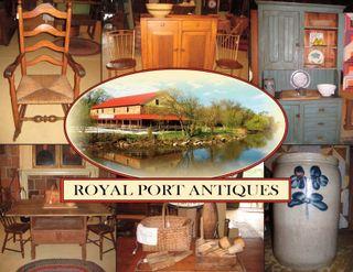 Royal Port Postcard Front Side