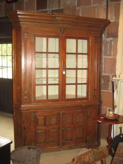 Large corner cupboard