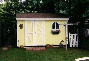 Nancy and victor shed