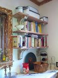 Rosemary Rossell's Shelves with Early Corbels