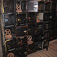 Black Painted Lockers from Philadelphia 1 of 4