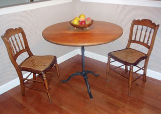 Barbara Dougherty table after