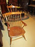 Early Comb Back Windsor Rocker