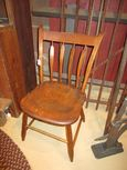 Early Step Down Arrowback Plank Bottom Chair