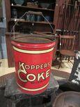 Koppers Coke Company Metal Bucket
