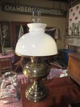 Old Converted Oil Lamp