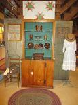 One Piece 19th Century Stepback Cupboard