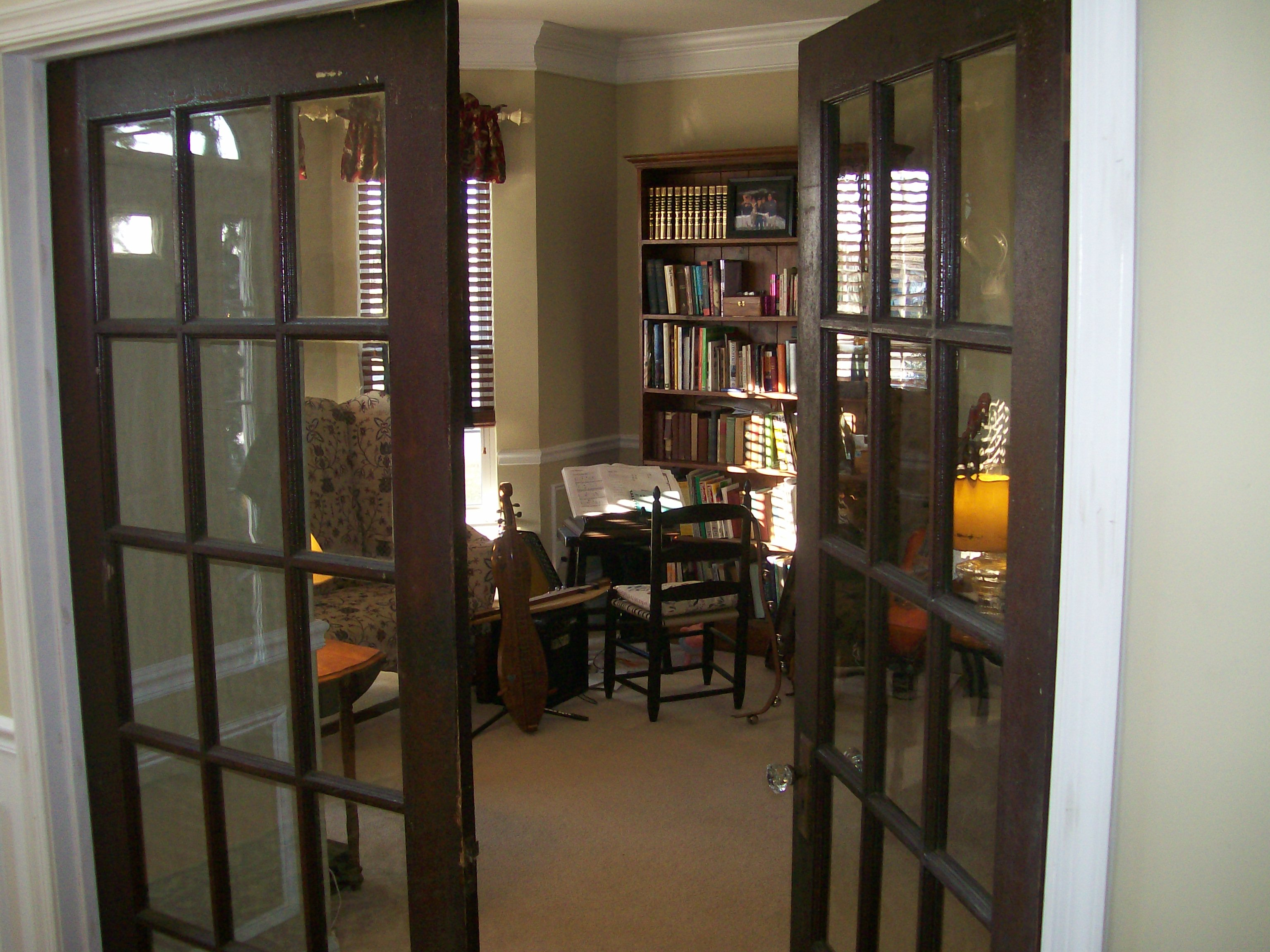 office french doors. Tom And Viv French Doors After2 Office