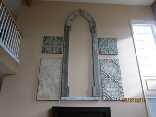 Renee Arched Window on wall