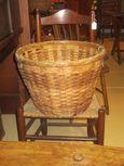 Early Woven Splint Basket