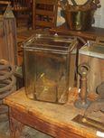 Early 1900's Glass Exide Battery Jar