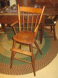 19th Century Child's Windsor Youth Chair with Bamboo Turnings