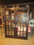 Pair of French Style Pocket Doors with Hardware