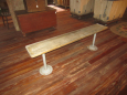 Vintage Gym Style Bench