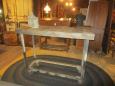 Pallet Top Repurposed Industrial Cart