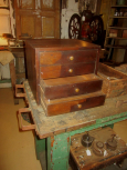 Open Drawers of Chest