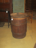Old Barrel with Lid