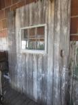 Old Barn Door with Window