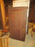 Early One Door Cabinet with Shelves