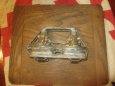 Double Bunny in Cars/Wagon Hinged Chocolate Mold