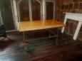 Repurposed Industrial Drafting Top Table