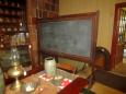 Early Slate Black Board on Stand