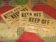 Keep Off Signs, Swedesboro, NJ