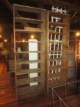 Old Hardware Store Shelves
