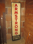 Armstrong Rhino-Flex Tires Advertising Sign