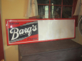 """Drink Barq's """"It's Good"""" Advertising Sign"""