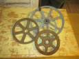 Old Pulley Wheels