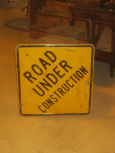 Road Under Construction Sign