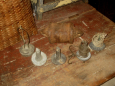 Old Lead Decoy Weights