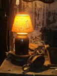 Old Crock Lamp