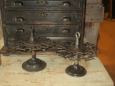 Cast Iron Rubber Stamp Stands
