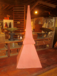 Galvinized Finial Top