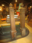 Another shot of newel posts