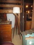 Repurposed Tripod Lamp