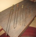 Early Fireplace Tongs