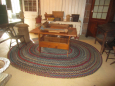 Braided Rug in Booth Setup!