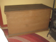 Early Painted Blanket Chest