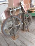 Iron Lathe Wheels