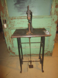 Early Treadle Driven Leather Punch