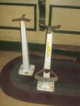 2 Porcelain Stool Bases