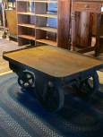 Industrial Cart with Removeable Handle
