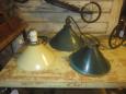 Vintage Pendant Light & Shade