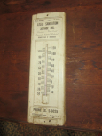 Old Advertising Thermometer