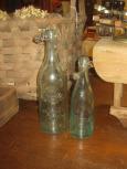 2 Old Soda Bottles