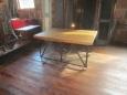 Repurposed Barrel Stand Table